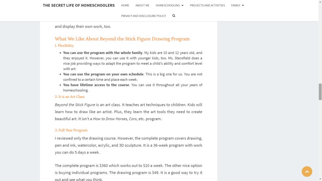 secret life of homeschoolers review