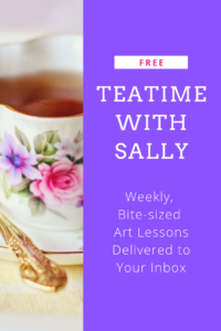 Teatime with Sally Free Art Lessons