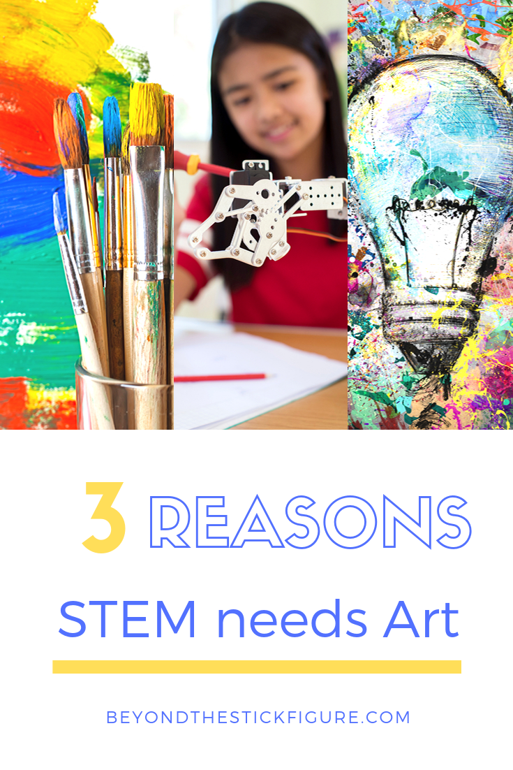 stem needs art