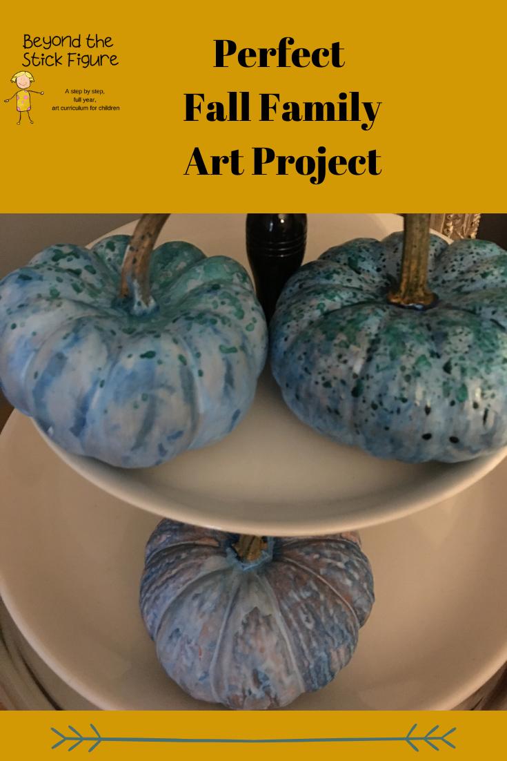 painted pumpkin class