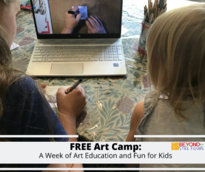 Art Camp: A Week of Art Education and Fun for Children