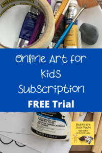 art supllies and brushes
