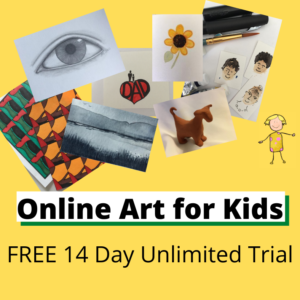 Online Art for Kids Subscription