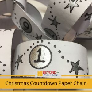 Christmas Countdown Paper Chain Project